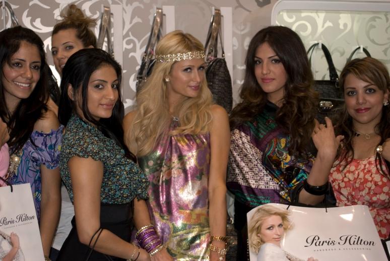 Paris Hilton 2009: Dubai Festival City Center Dubai PA