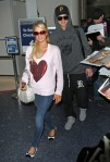 Paris Hilton at LAX